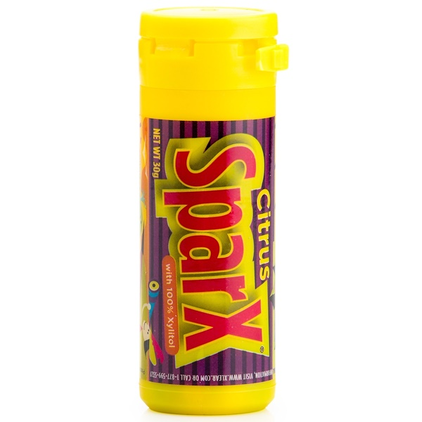 Xlear, SparX Candy, with 100% Xylitol, Citrus, 30 g