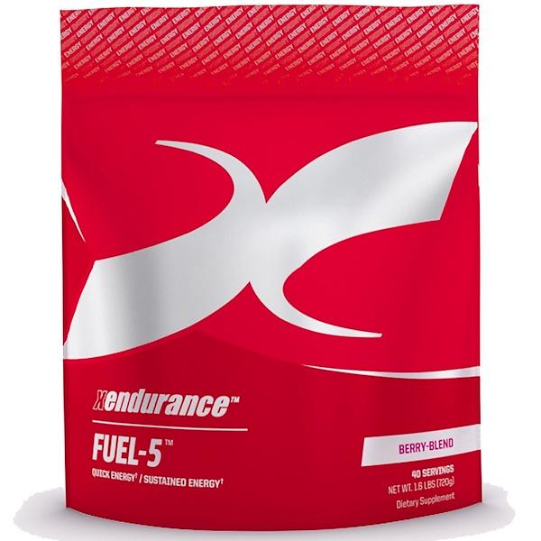 Xendurance, Fuel-5, Berry-Blend, 1、6 lbs (720 g)