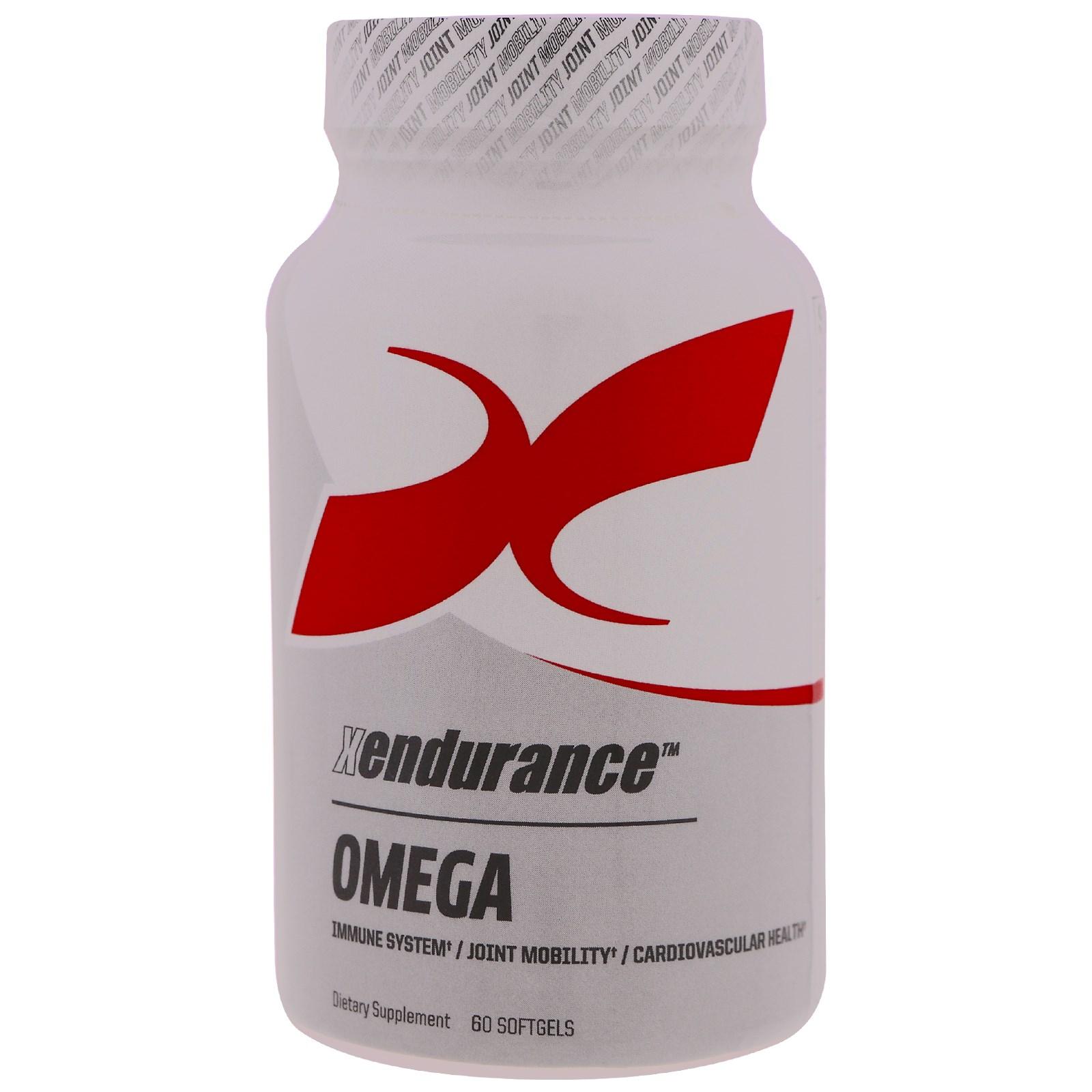 Xendurance, Омега, 60 мягких капсул