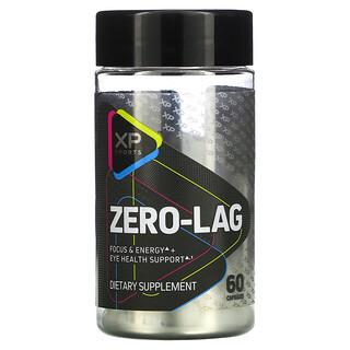 XP Sports, Zero-Lag, Focus & Energy + Eye Health Support, 60 Capsules