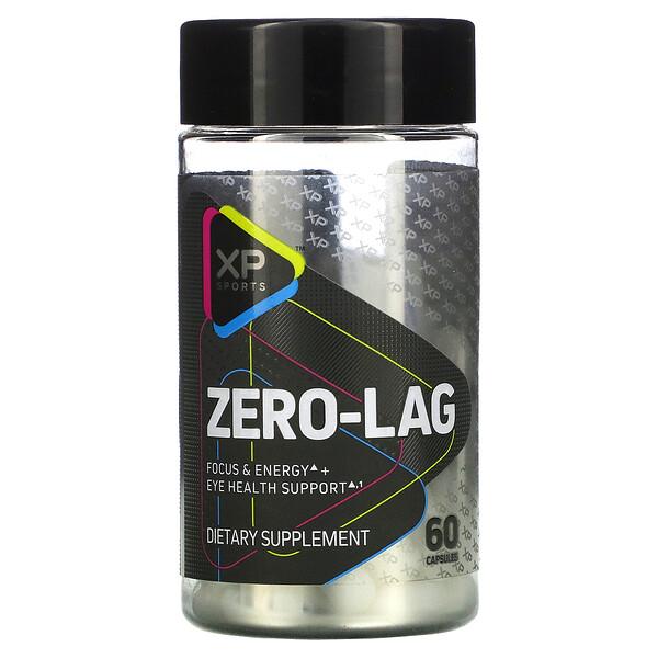 Zero-Lag, Focus & Energy + Eye Health Support, 60 Capsules