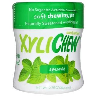 Xylichew Gum, Gesüßt mit Birkenxylit, Minze, 60 Teile, 2,75 oz (78 g)