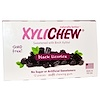 Xylichew, Black Licorice Gum، بتحلية شجر قضبان الزايليتول، 12 قطعة