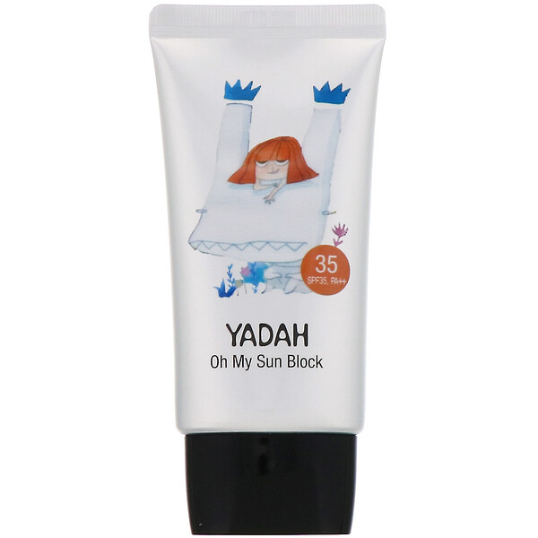 Yadah, Oh My Sun Block 35, 1.69 fl oz (50 ml) (Discontinued Item)
