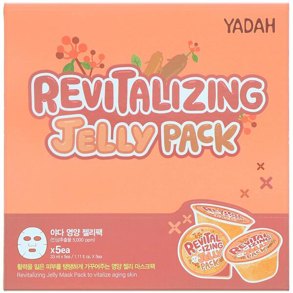 Revitalizing Jelly Pack, 5 Sheets, 1.11 fl oz (33 ml) Each