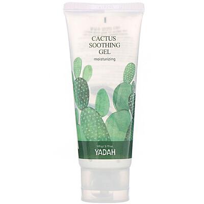 Yadah Cactus Soothing Gel, увлажняющий гель, 105г