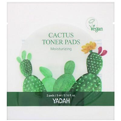 Купить Yadah Cactus Toner Pads, 20 Pads
