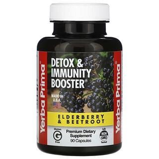 Yerba Prima, Detox & Immunity Booster, 90 Capsules