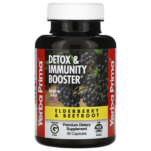 Detox & Immunity Booster, 90 Capsules
