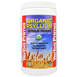 Yerba Prima, Organic Psyllium Whole Husks, 12 oz (340 g)