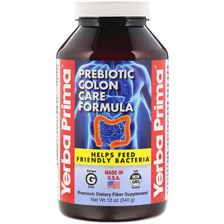 Yerba Prima, Prebiotic Colon Care Formula, 12 oz (340 g)