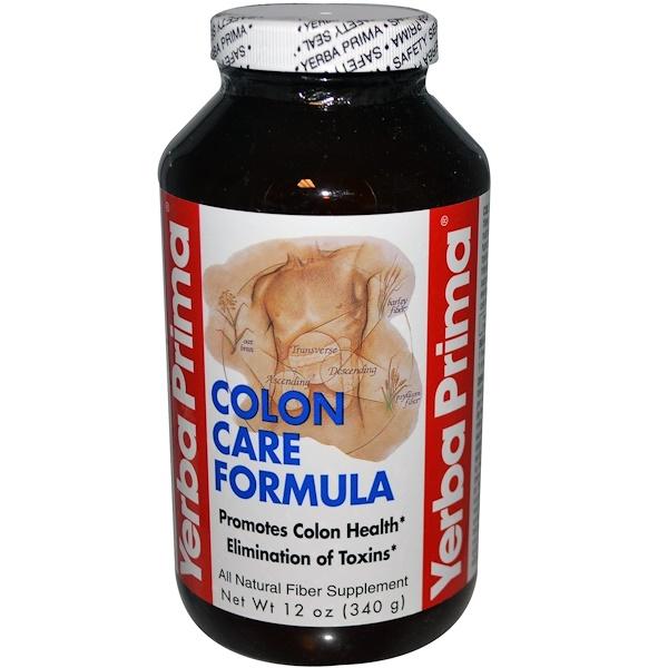 Yerba Prima, Colon Care Formula, 12 oz (340 g)