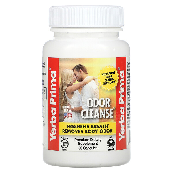 Odor Cleanse, 50 Capsules