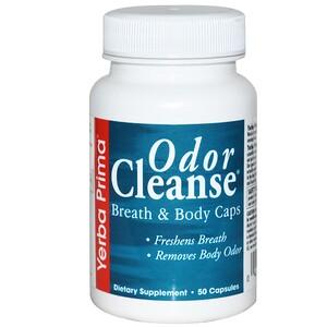 Ерба Прима, Odor Cleanse Breath & Body Caps, 50 Capsules отзывы покупателей
