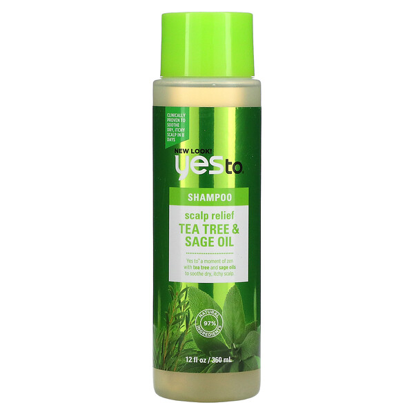 Scalp Relief Shampoo, Tea Tree & Sage Oil, 12 fl oz (360 ml)