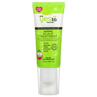 Yes to, Scalp Treatment, Tea Tree, 3 fl oz (88.7 ml)