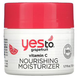 Yes To, Vitamin C Nourishing Moisturizer, Grapefruit, 1.7 fl oz (50 ml)