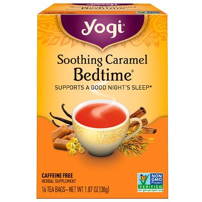 Купить Soothing Caramel Bedtime, без кофеина, 16 чайных пакетиков, 30 г (1, 07 унции)