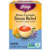 Yogi Tea, Stress Relief cо вкусом меда и лаванды, без кофеина, 16 чайных пакетиков, 1.02 унций (29 г)