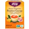 Yogi Tea, Positive Energy, Sweet Tangerine, 16 Tea Bags, 1.02 oz (29 g)