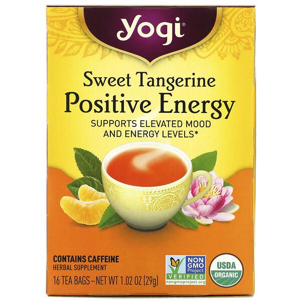 Positive Energy, Sweet Tangerine, 16 Tea Bags, 1.02 oz (29 g)