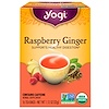 Yogi Tea, Digestive Vitality, Raspberry Ginger, 16 Tea Bags, 1.12 oz (32 g)