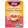 Yogi Tea, Cinnamon Berry Probiotic Balance, 16 Tea Bags, 1.02 oz (29 g)