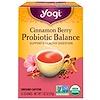 Yogi Tea, Cranberry Spice Probiotic Balance, 16 пакетиков, 1.02 унц. (29 г)