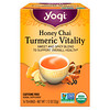 Yogi Tea, Honey Chai, Turmeric Vitality, 16 Tea Bags, 1.12 oz (32 g)
