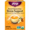 Yogi Tea, Apoyo contra el estrés, clementina dulce, sin cafeína, 16 saquitos de té, 1.12 oz (32 g)