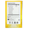 Yogi Tea, Sweet Ginger Citrus Turmeric Vitality, Caffeine Free, 16 Tea Bags, 1.12 oz (32 g)
