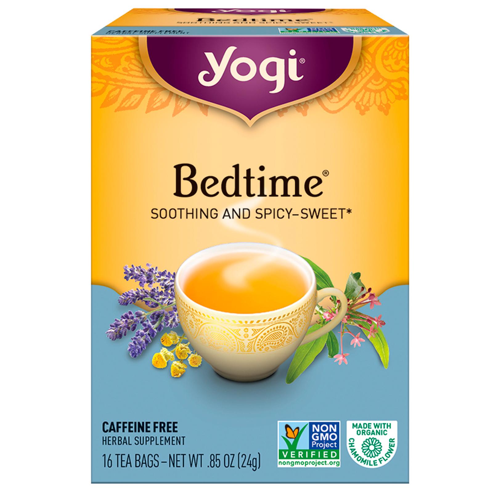 Yogi Tea Bedtime Caffeine Free 16 Bags 85 Oz