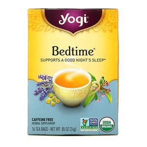 Йоги Ти, Bedtime, Caffeine Free, 16 Tea Bags, .85 oz (24 g) отзывы