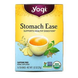 Yogi Tea, ストマックイーズ(Stomach Ease)、16ティーバッグ、29g(1.02オンス)