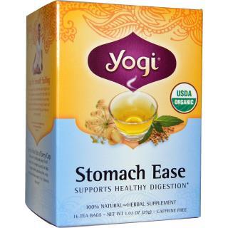Yogi Tea, Stomach Ease, Caffeine Free, 16 Tea Bags, 1.02 oz (29 g)