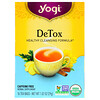 Yogi Tea, DeTox للتخلص من السموم، خالٍ من الكافيين، 16 كيس شاي، 1.02 أونصة (29 جم)