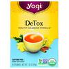 Yogi Tea, Detox, Caffeine Free, 16 Tea Bags, 1.02 oz (29 g)