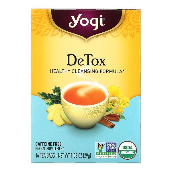 清体茶,无咖啡萃取,16 茶包,1.02 盎司(29 克)