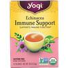 Yogi Tea, Equinácea para Auxílio no Sistema Imunológico, Sem Cafeína, 16 Saquinhos de Chá, 24 g (0,85 oz)