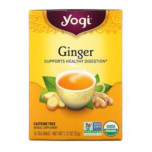 Йоги Ти, Organic Ginger, 16 Tea Bags, 1.12 oz (32 g) отзывы покупателей