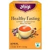 Yogi Tea, Healthy Fasting, Caffeine Free, 16 Tea Bags, 1.12 oz (32 g)