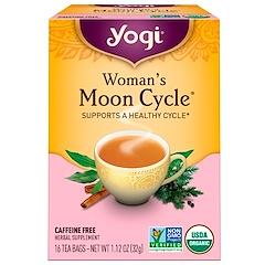 Yogi Tea, أكياس شاي دورة القمر للنساء، خالي من الكافيين، 16 كيس شاي، 1.12 أوقية (32 جم)