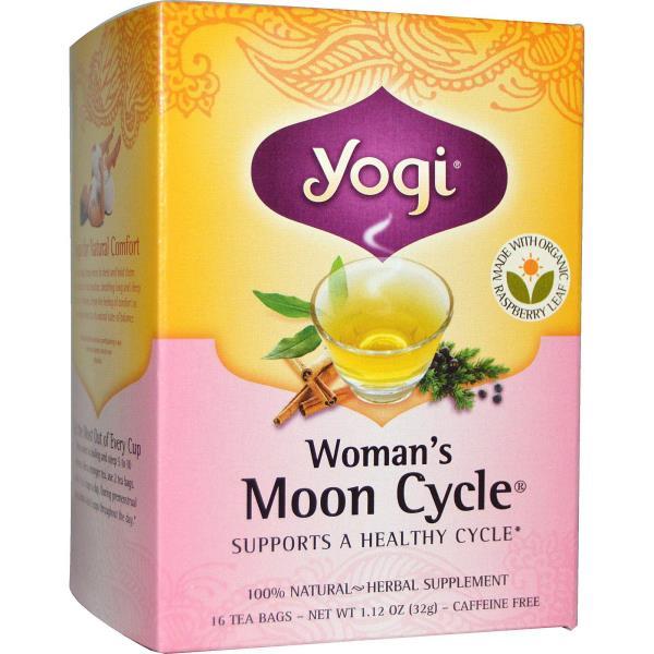 Yogi Tea, 女性の月の周期, カフェインフリー, 16ティーバッグ, 1.12オンス(32 g)