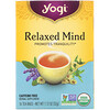 Yogi Tea, Organic, Relaxed Mind, Caffeine Free, 16 Tea Bags, 1.12 oz (32 g)
