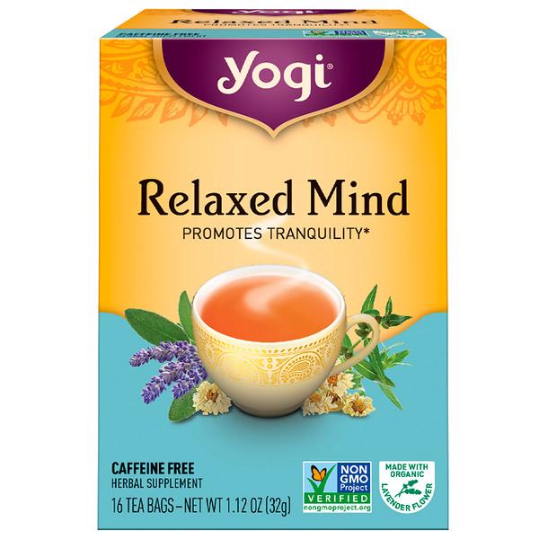 Yogi Tea, 神經放鬆茶,不含咖啡因,16 茶袋,1、12 盎司(32 克)