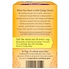 Yogi Tea, イチョウによる明晰さ(Ginkgo Clarity), カフェインフリー, 16ティーバッグ, 1.12オンス(32 g)