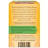 Yogi Tea, Green Tea Triple Echinacea, 16 Tea Bags, 1.12 oz (32 g) (Discontinued Item)