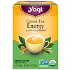 Yogi Tea, Organic, Green Tea Energy, 16 Tea Bags, .92 oz (26 g)