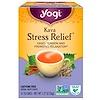 Yogi Tea, Kava Estresse Relief, Sem Cafeína, 16 Saquinhos de Chá, 36 g (1,27 oz)