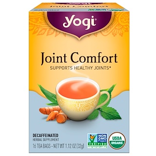 Yogi Tea, Joint Comfort, 16 Tea Bags, 1.12 oz (32 g)